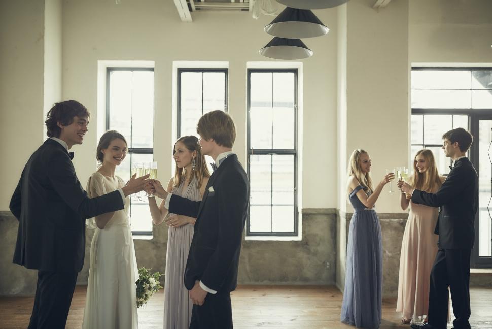 親しい人だけを呼んだ少人数結婚式