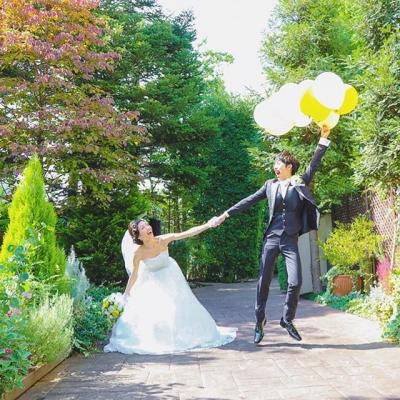 結婚式場ルーデンス立川のロケーションフォト