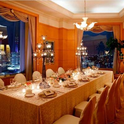 横浜ベイシェラトンホテルのスイートルームウェディング