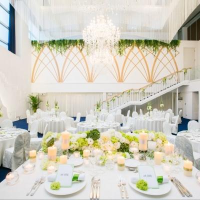 結婚式場シュビアの披露宴会場