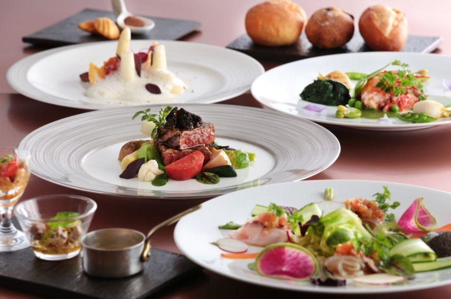 横浜ベイシェラトンホテルの婚礼コース料理