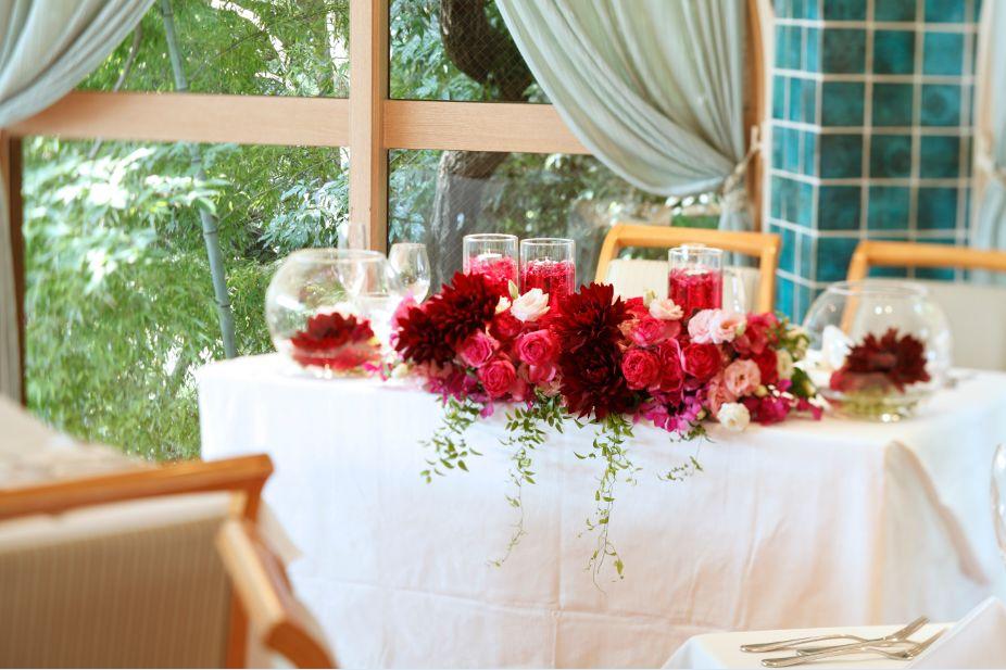 プリミバチのメインテーブル