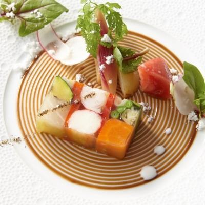 ラ・ロシェル山王の婚礼料理