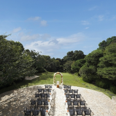 QEDCLUBのガーデン結婚式