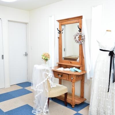 結婚式場フェインのブライズルーム