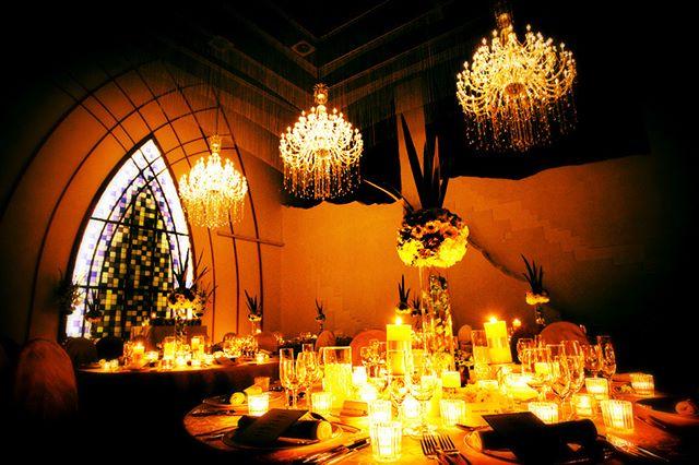 結婚式場シュビアのナイトウェディング