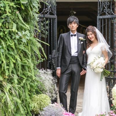 結婚式場アンジェパティオのチャペル入口