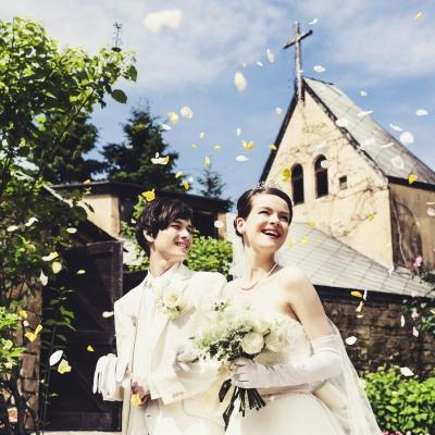 ロックハート城で結婚式