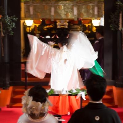 日光二荒山神社の八乙女神楽