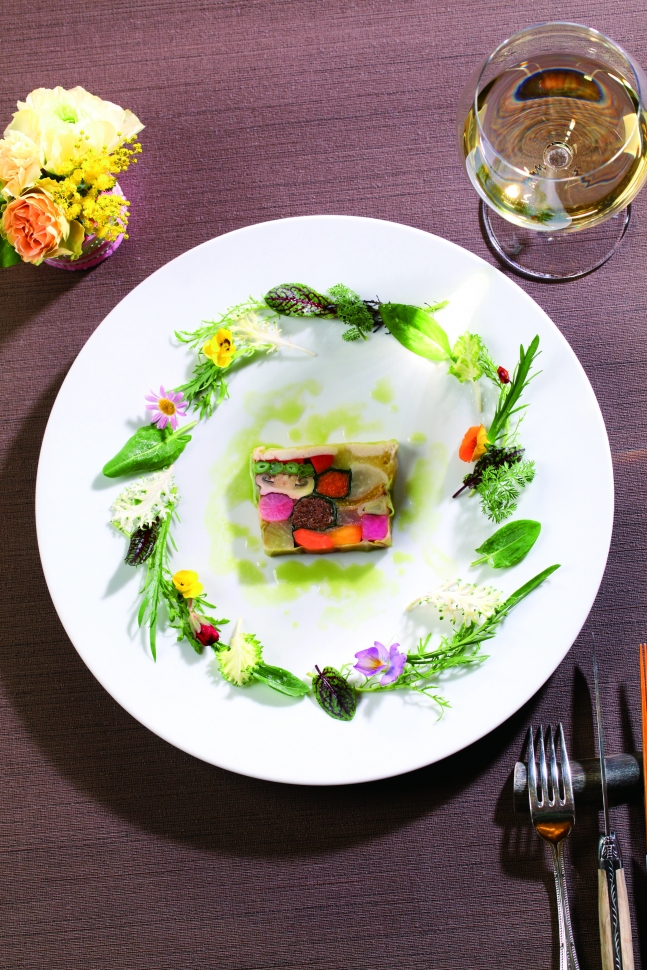 色彩豊かな半蔵屋の婚礼料理