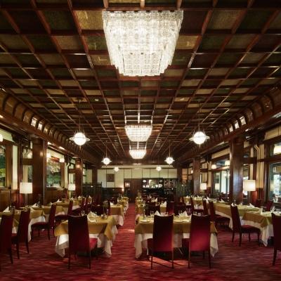 万平ホテルのダイニングレストラン