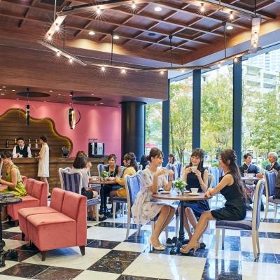 アヴァンセリアンのカフェスペース