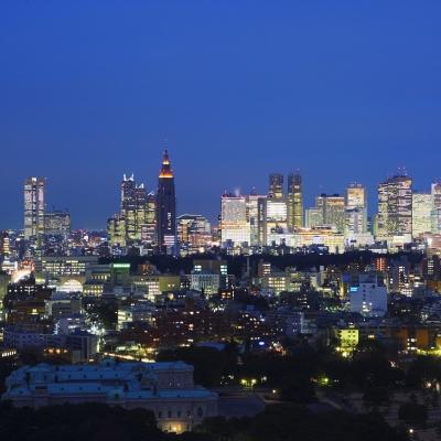 クルーズクルーズ新宿から見える東京の夜景