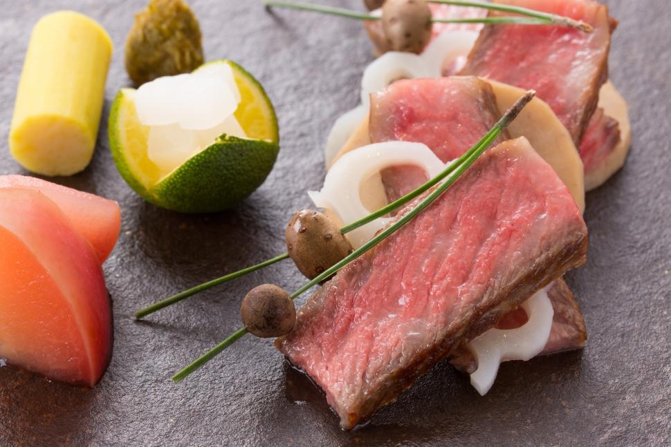 星のなる木のお肉料理