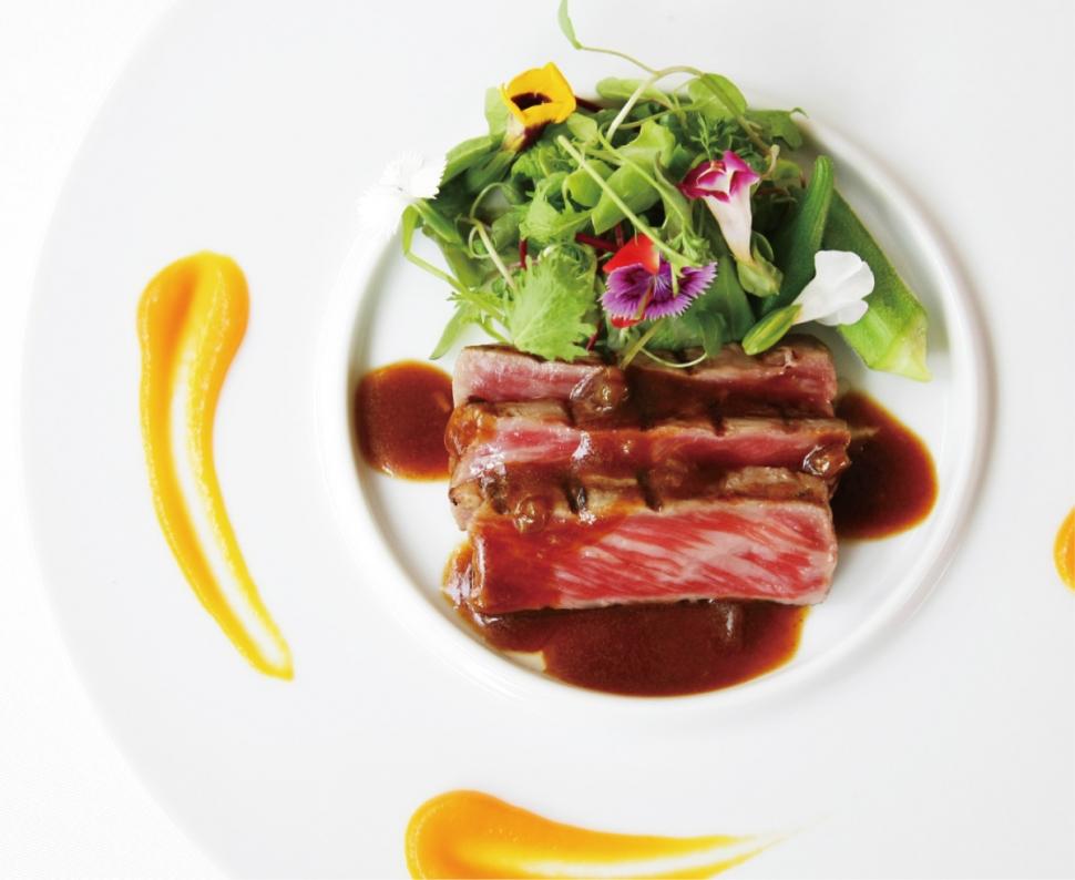 葉山庵Tokyoの婚礼料理