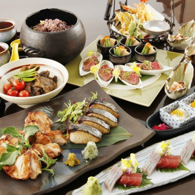 和食の婚礼コース料理