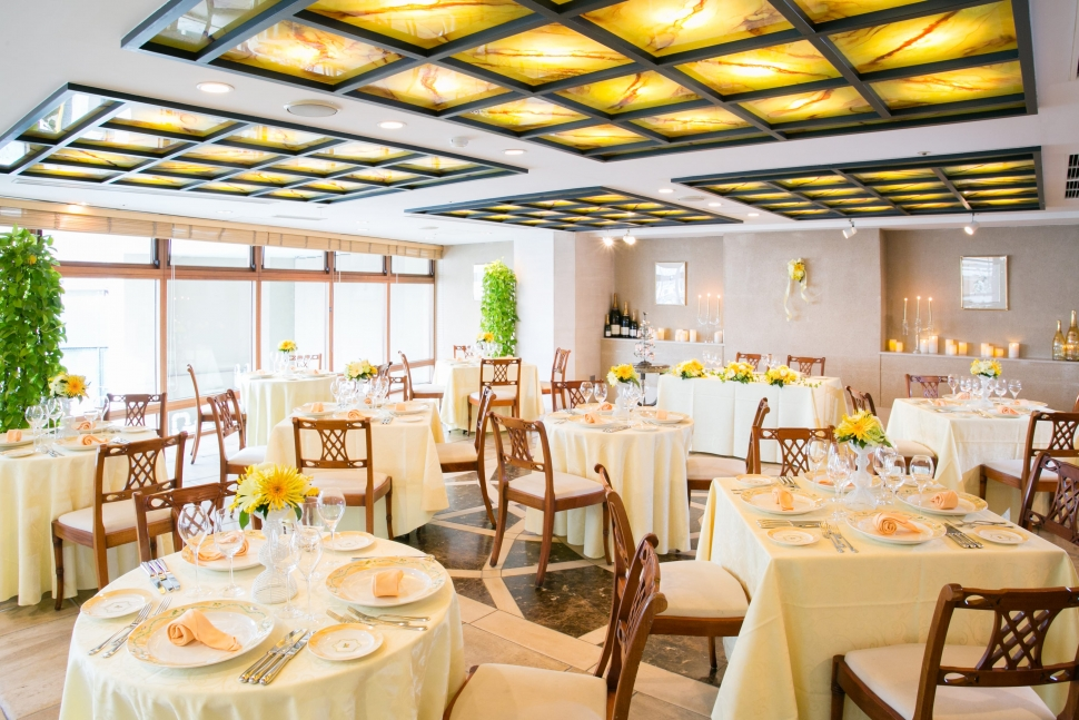 アグネスホテルの人気レストラン ラ・コリンヌ