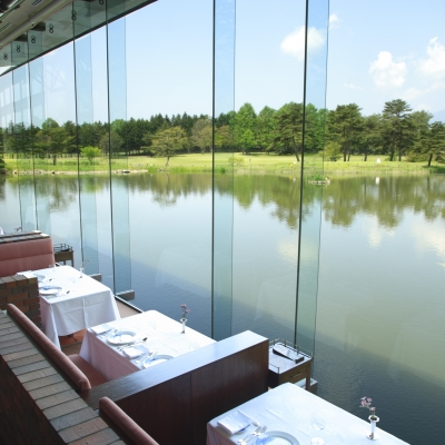 ザ・プリンス軽井沢のフレンチレストラン「ボーセジュール」