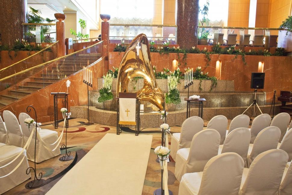 横浜ベイシェラトン ホテル&タワーズで挙げるロビー挙式