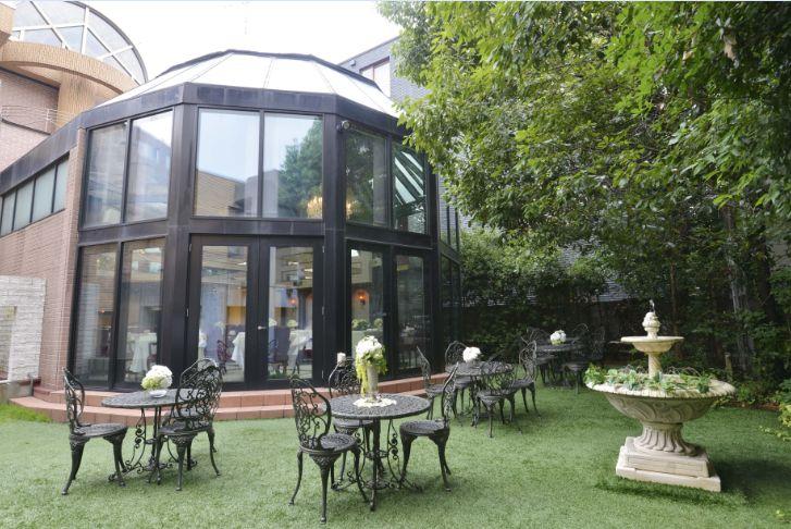 青山エリュシオンハウスのガーデンテラス