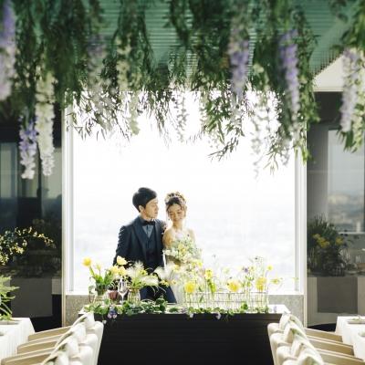 結婚式場大宮モノリスでナチュラルウェディング