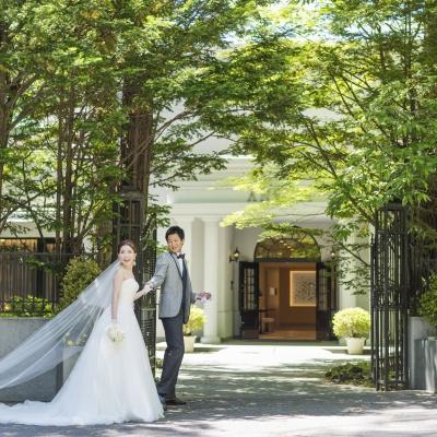 結婚式場アネーリ軽井沢の外観