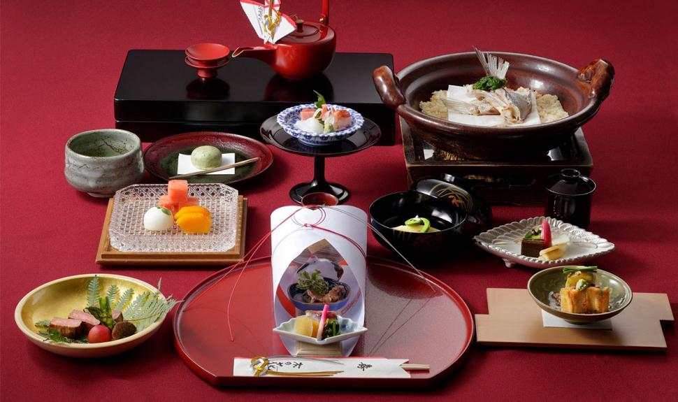 横浜ベイシェラトンホテルの和食コース料理