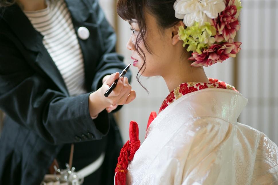 白無垢姿の花嫁