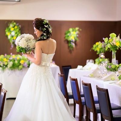 結婚式場ラレンツァの披露宴会場