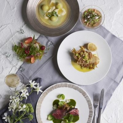 キハチ青山の婚礼コース料理