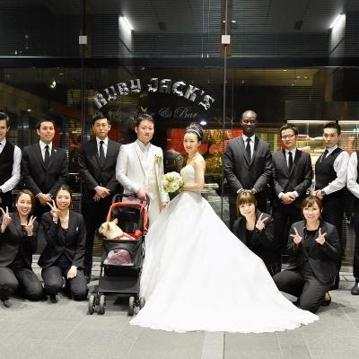 結婚式場ルビージャックスの婚礼スタッフ