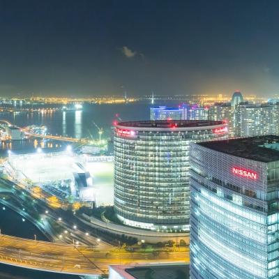 横浜の夜景が一望できるレストラン