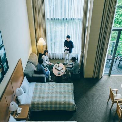 ホテルハーヴェスト旧軽井沢の宿泊ルーム