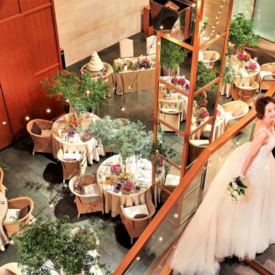 結婚式場ラリアンスの大階段