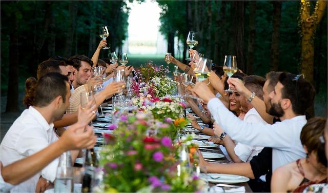 結婚披露宴乾杯
