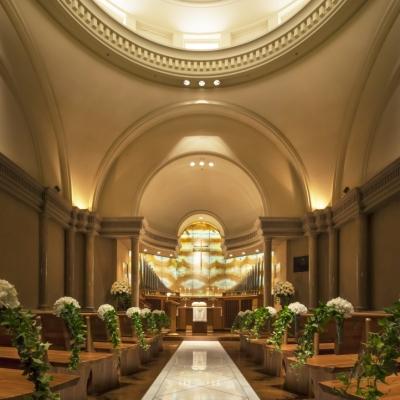 ウェスティンホテル東京のチャペル