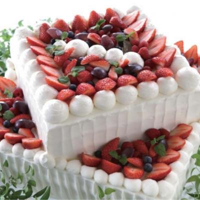 クルーズクルーズ横浜のフレッシュケーキ