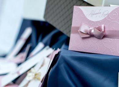 ピンクの招待状
