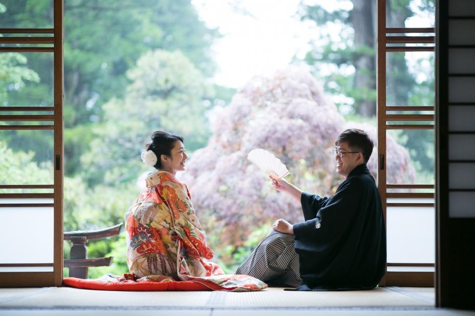 日光二荒山神社で和婚