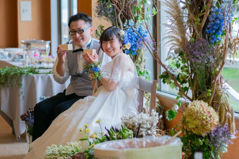 ふくはなWEDDINGで挙げた結婚式