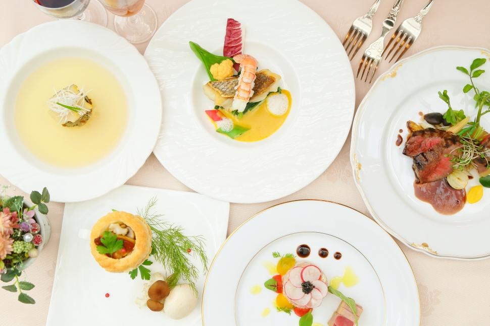 ラファエルの婚礼コース料理