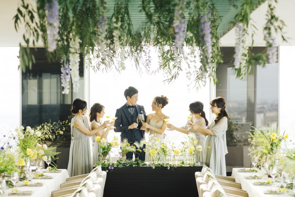 大宮モノリスで少人数結婚式