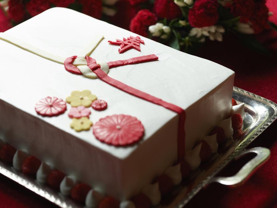 富士屋ホテルのウェディングケーキ