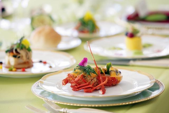 リッチな婚礼フランス料理