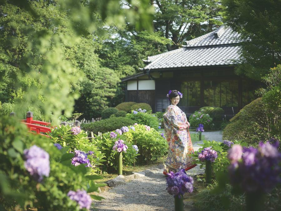 菊華荘で和婚